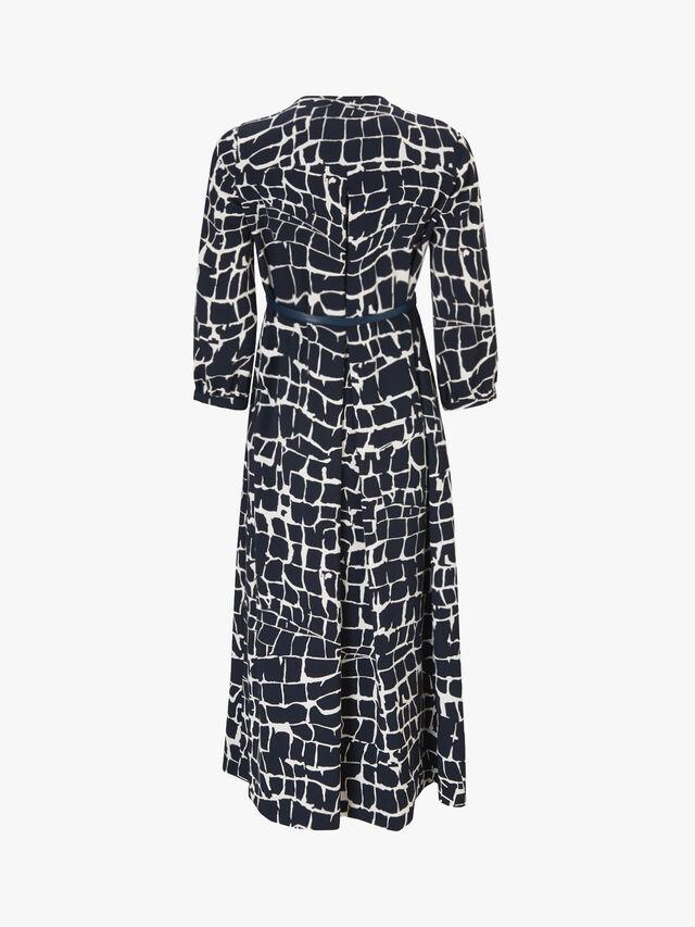 Zannata Pattern Dress