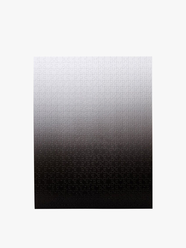 Bryce Wilner Gradient Puzzle - Original Black/White