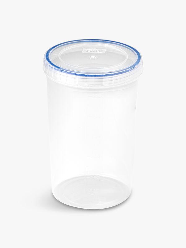 Twist Round Container 1.9l