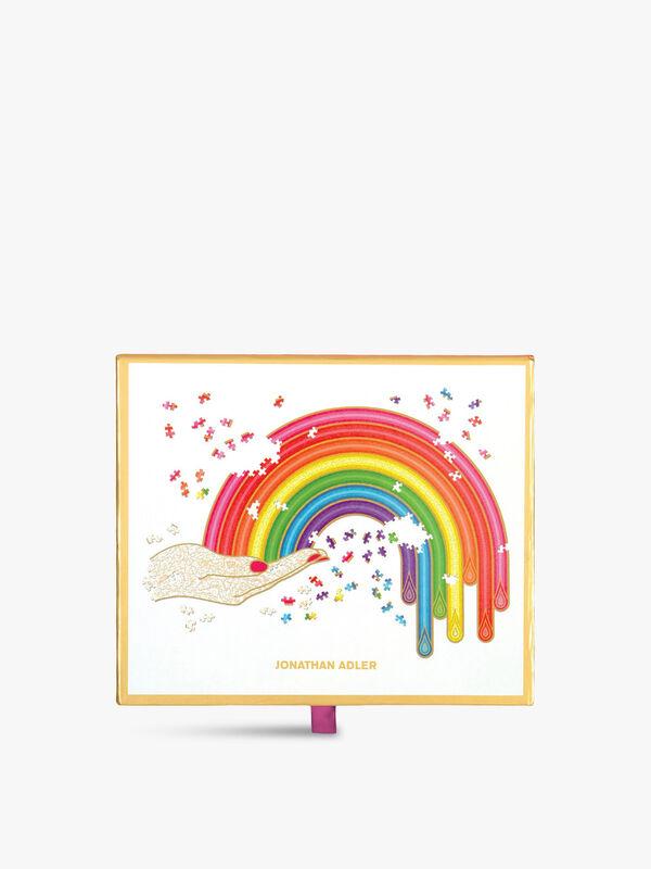 Rainbow Hand 750 Piece Shaped Puzzle