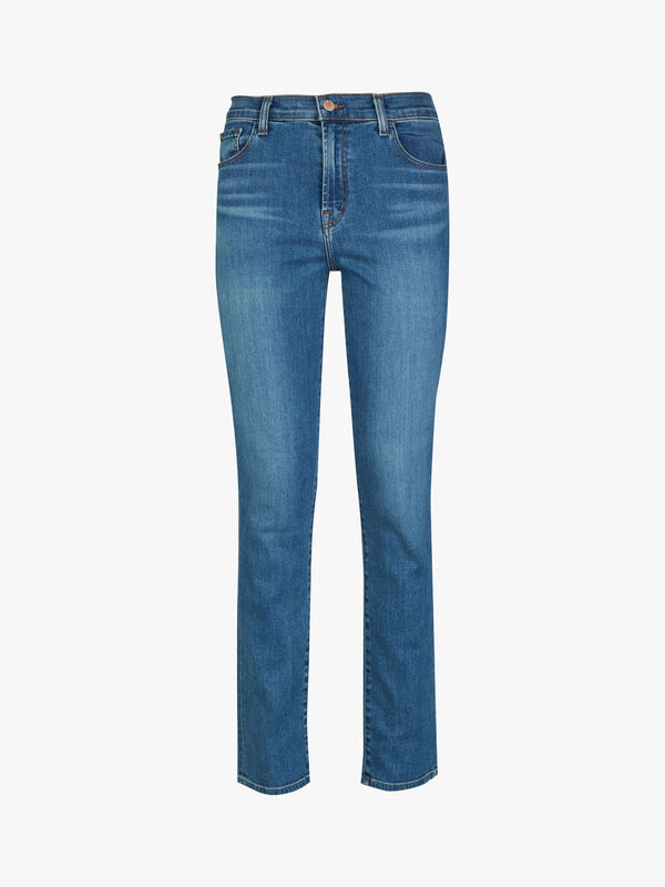 Ruby Slim High Rise Crop Jeans