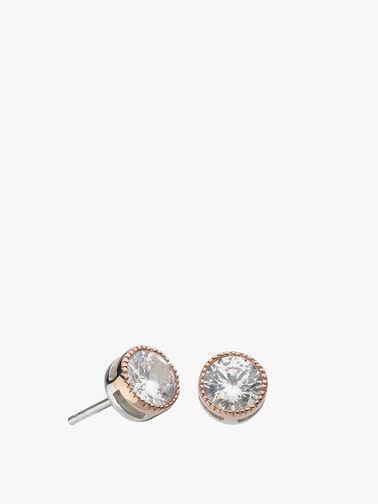 Large Vintage Stud Earrings