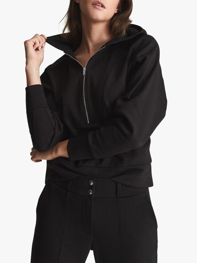Lucy Loungewear Zip Neck Hoodie