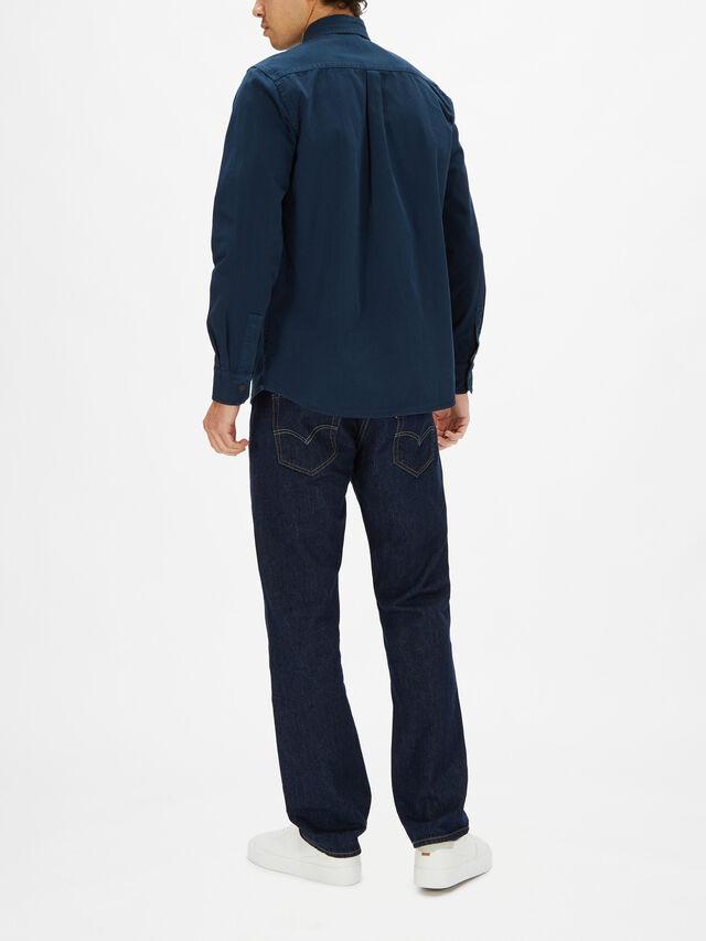 Garment Dye Overshirt