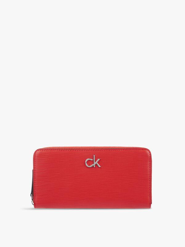 CK Must Zip Around Wallet Large Wave