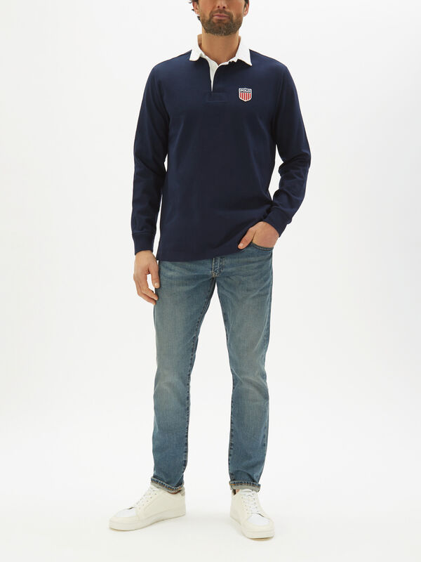 Classic Fit Polo Shield Rugby