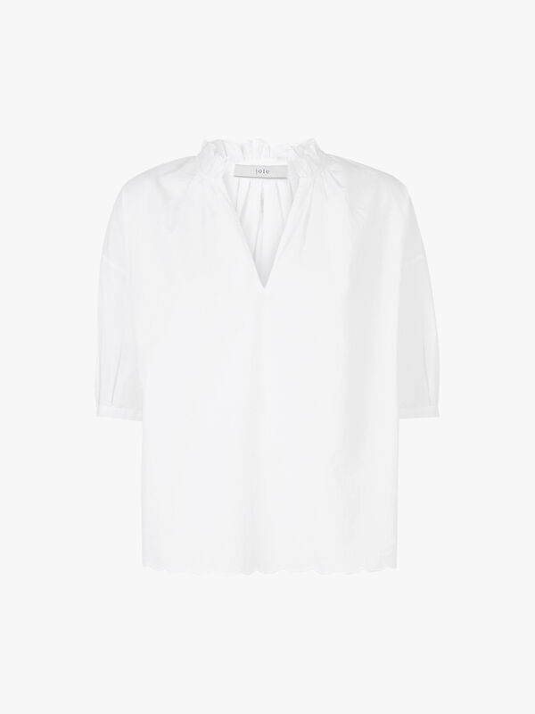 Saila White Shirt