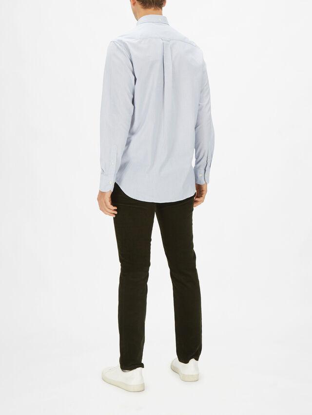 Tech Prep Royal Oxford Shirt