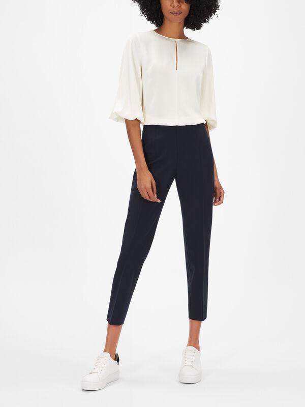 Emanuela Heavy Wool Trousers