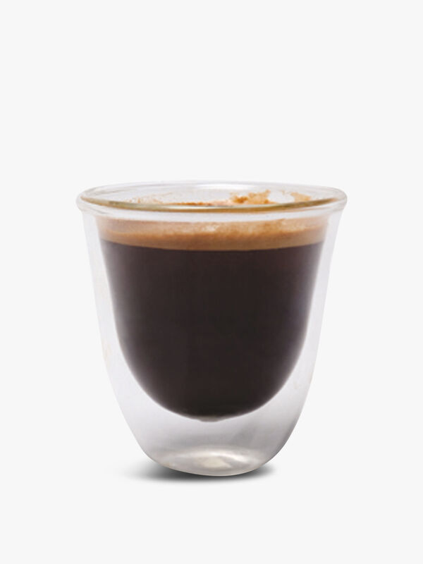 Jack Set of 4 Double Walled Glass Espresso Cups