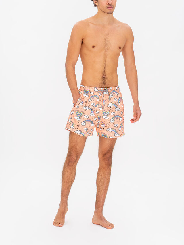 Rainbows & Unicorns Swim Shorts