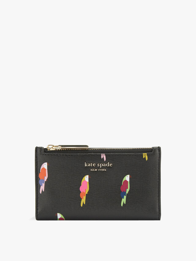 Sylvia Flock Party Small Bifold Wallet