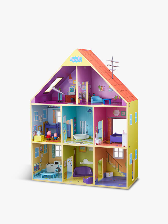 Peppa's Wooden Playhouse