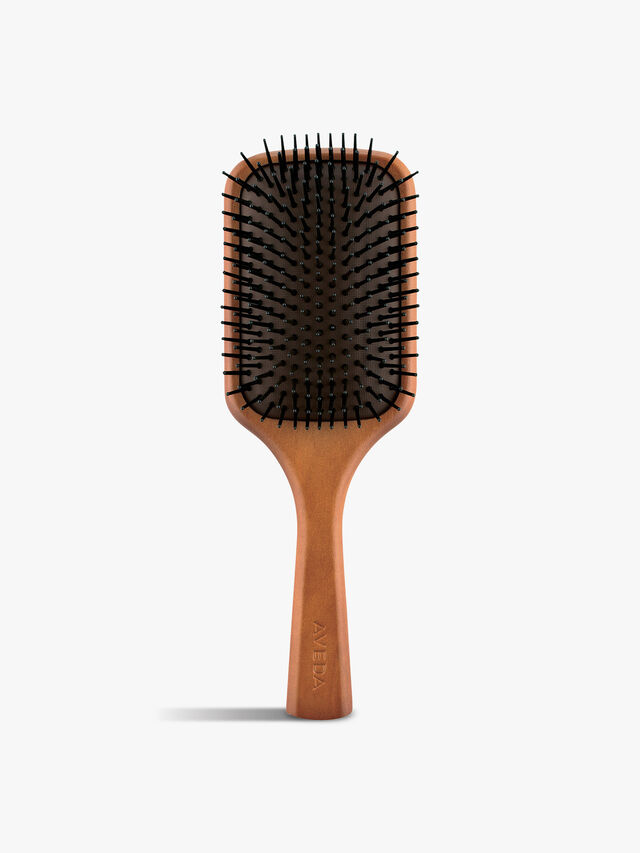 Wooden Hair Paddle Brush