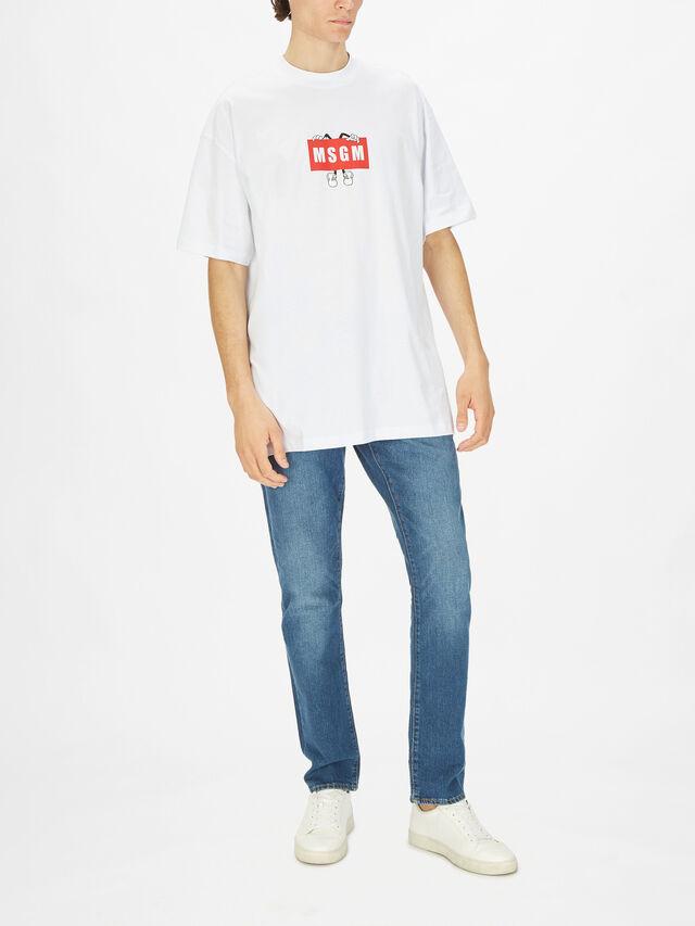 Box Logo Character T-Shirt