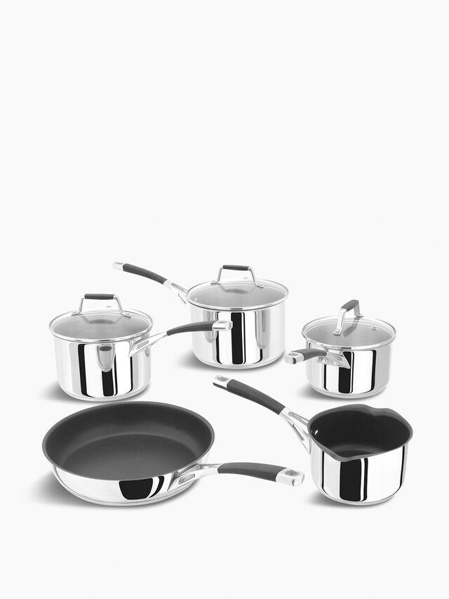 Five Piece Saucepan Set