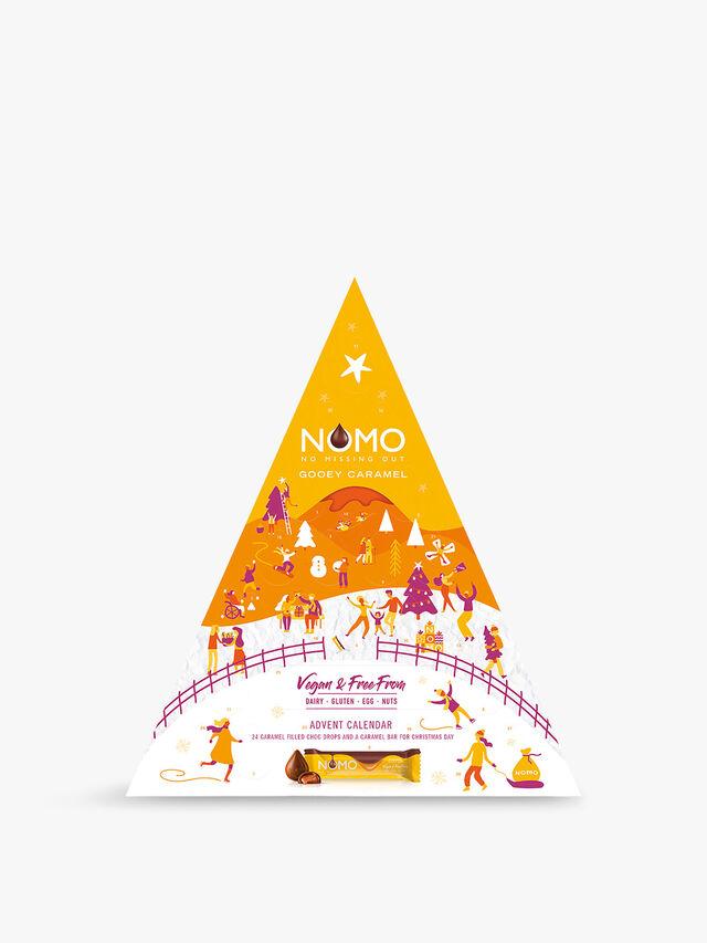 Nomo Vegan and Free From Chocolate Advent Calendar 224g