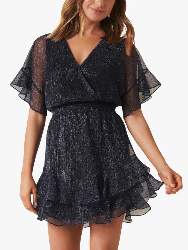 SOPHIE PLISSE MINI DRESS
