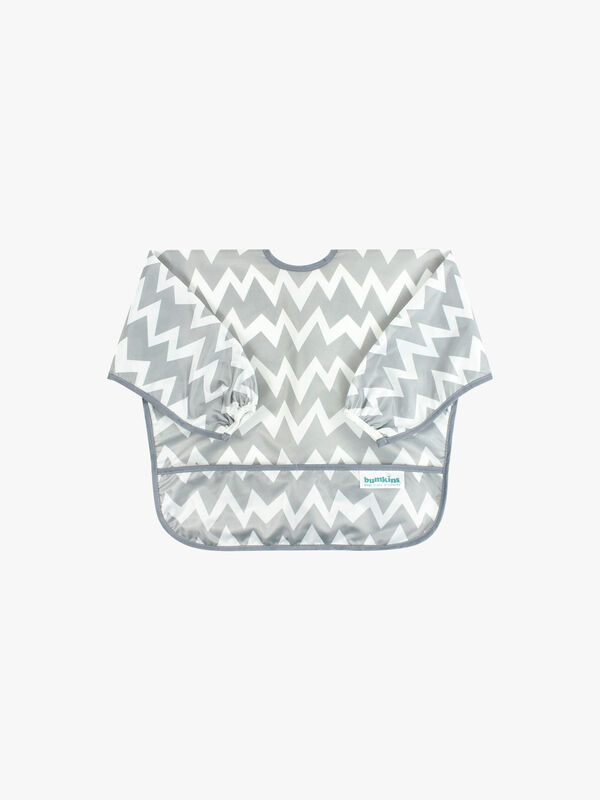 Chevron Sleeved Bib