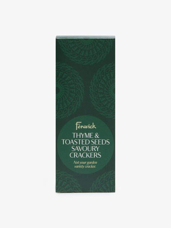 Thyme & Toasted Seed Crackers 135g