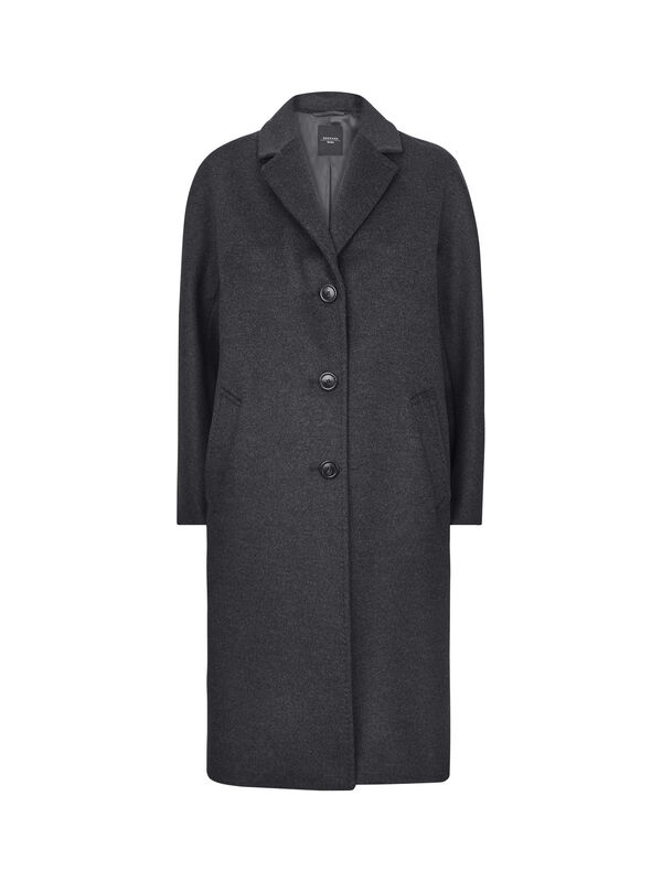 Funale Single Breast Wool Coat