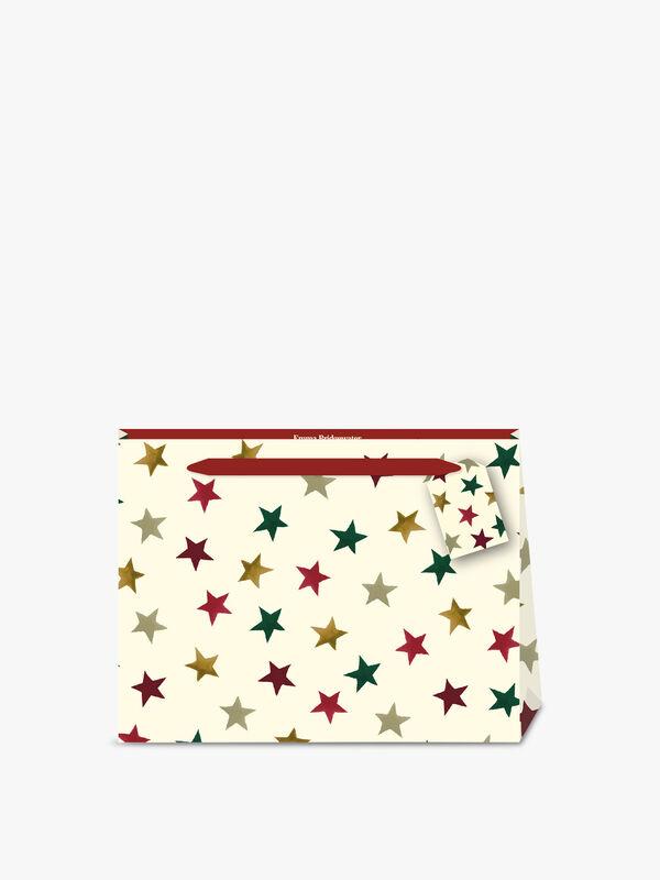 Emma Bridgewater Christmas Stars Shopper Bag