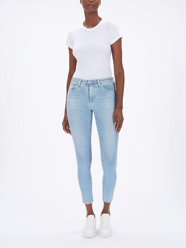 Aaran High Rise Skinny Jeans