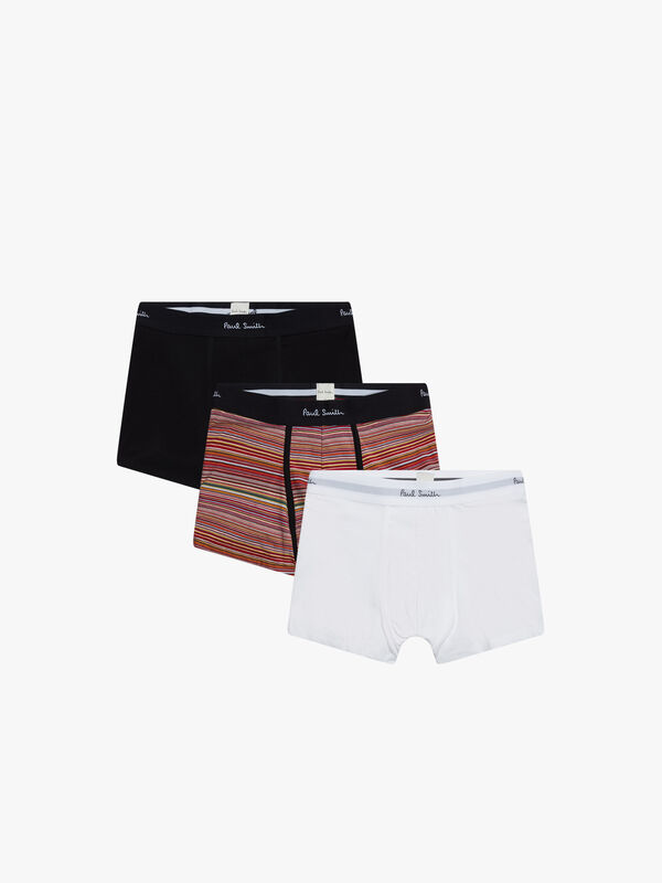 3Pack With Stripe Trunk