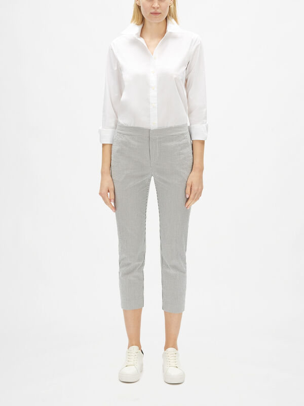 Varinia Cropped Slim Trousers