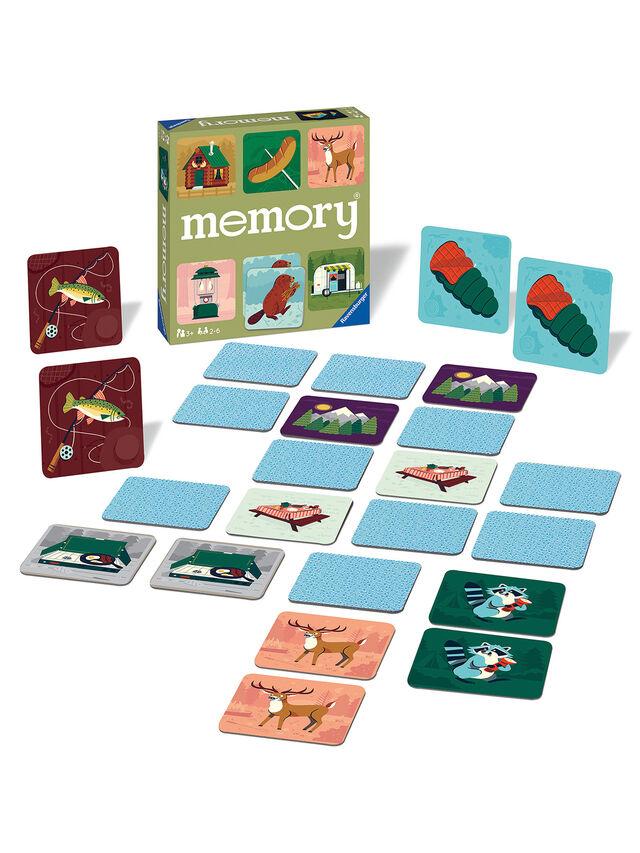 Camping Adventures Large Memory Game