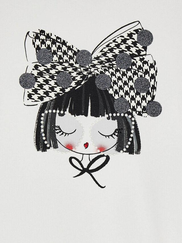 Girl with Hair Bow Leggings set