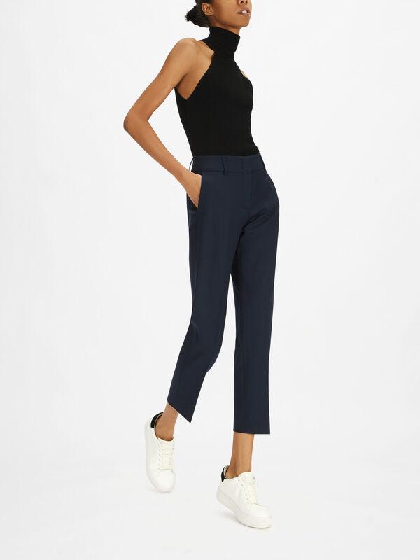 Kim Heavy Wool Trouser
