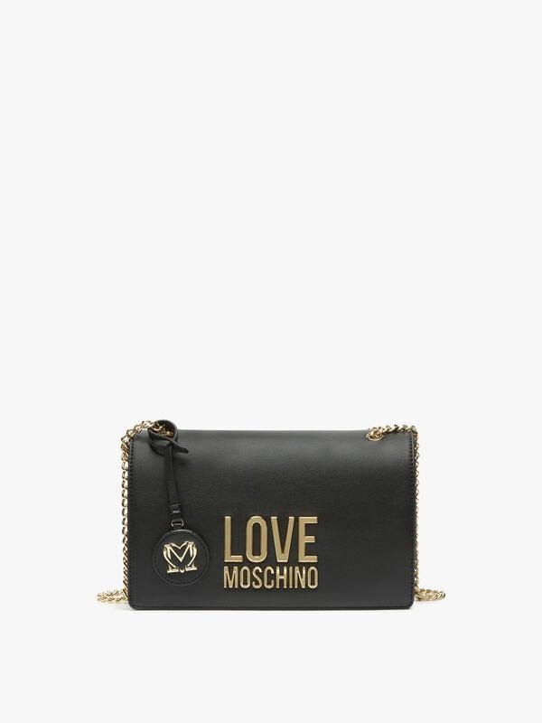 Chain Love Moschino Shoulder Bag