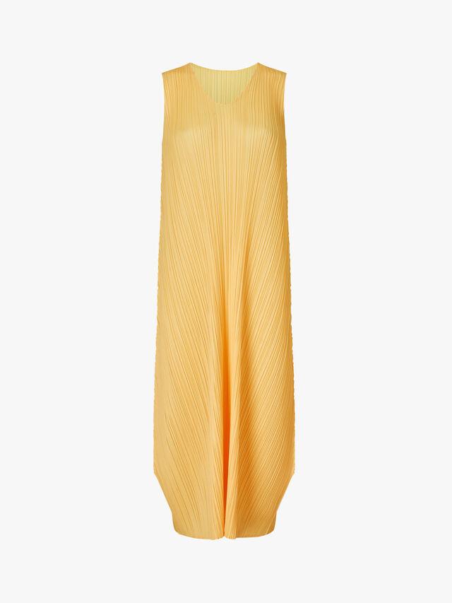 Solid Sleeveless Dress