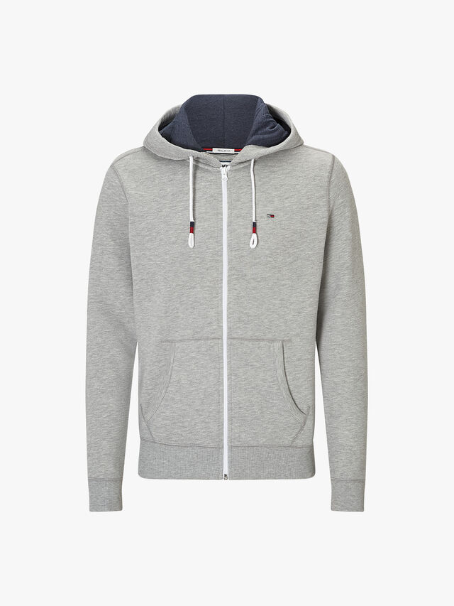 Regular Fit Zipped Hoody