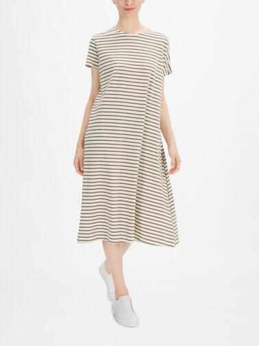 SSlv-Jersey-Stripe-A-line-Midi-Dress-w-Concealed-Side-Pocket-Tappo