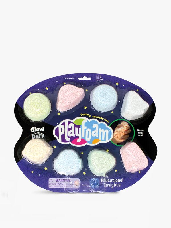 Glow In The Dark Playfoam 8-Pack