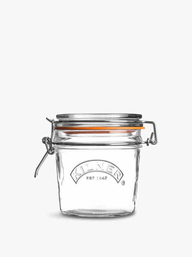 Clip Top Round Jar 0.35l