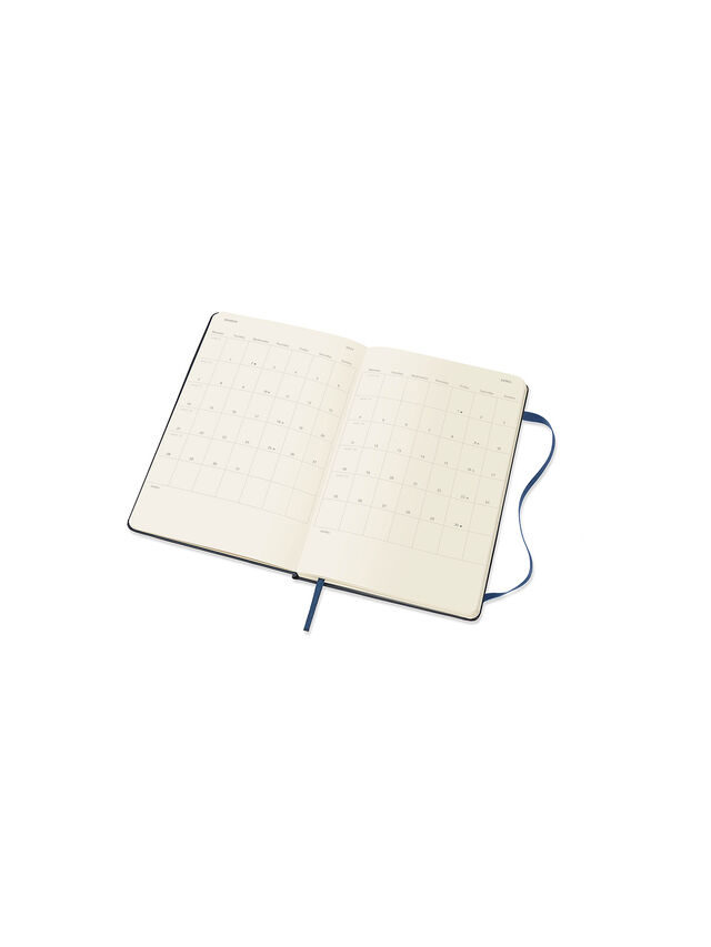2022 Sapphire Blue Large Hard Cover Diary WTV