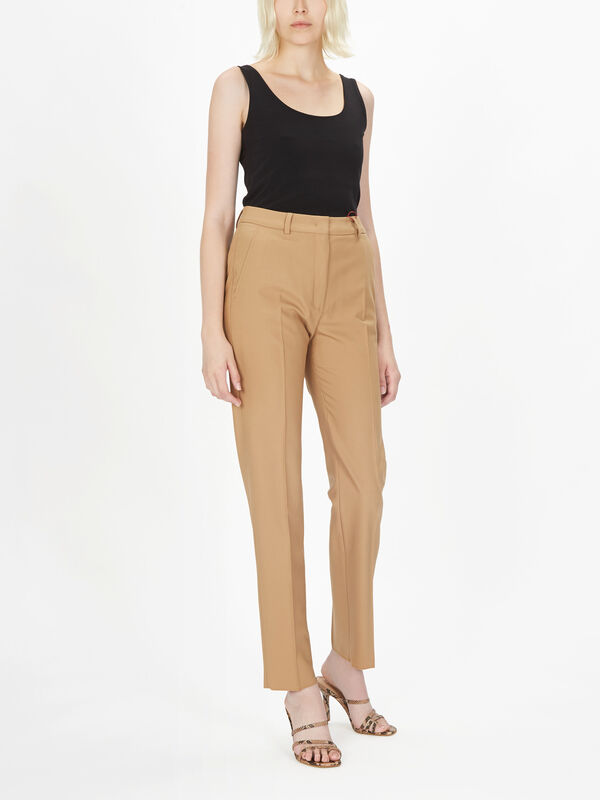 Belford Wool Fitted Pant