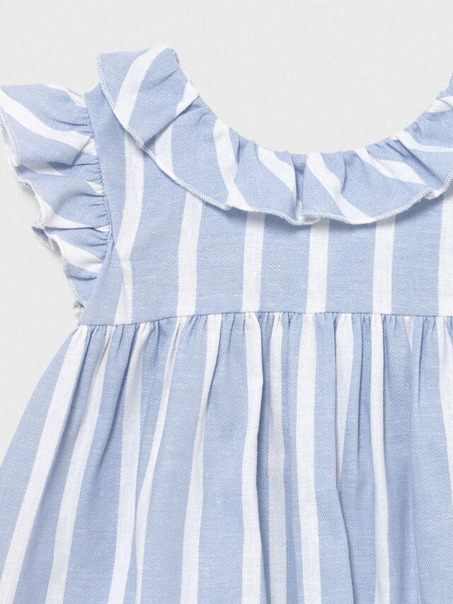 Frill trim Stripe Top