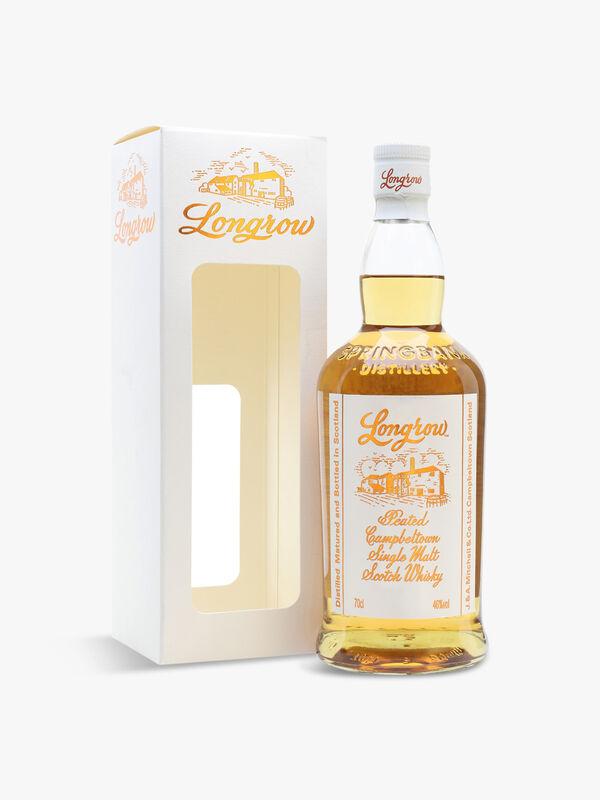 Longrow Peated Single Malt Scotch Whisky 70cl