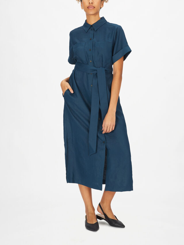 Lexi Shirt Dress With Belt