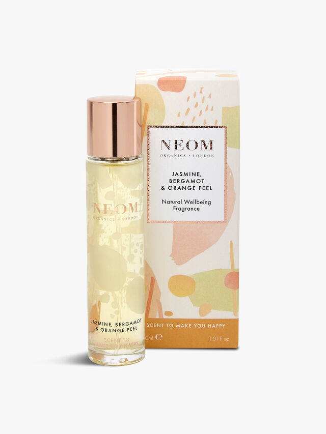 Jasmine, Bergamot & Orange Peel Natural Wellbeing Fragrance