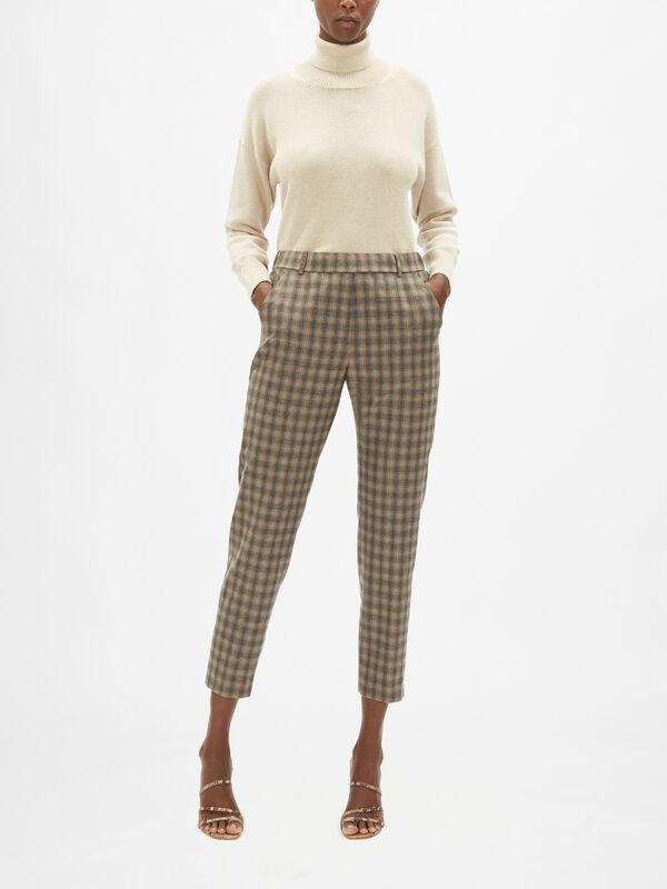 Sparkle Small Check Trouser