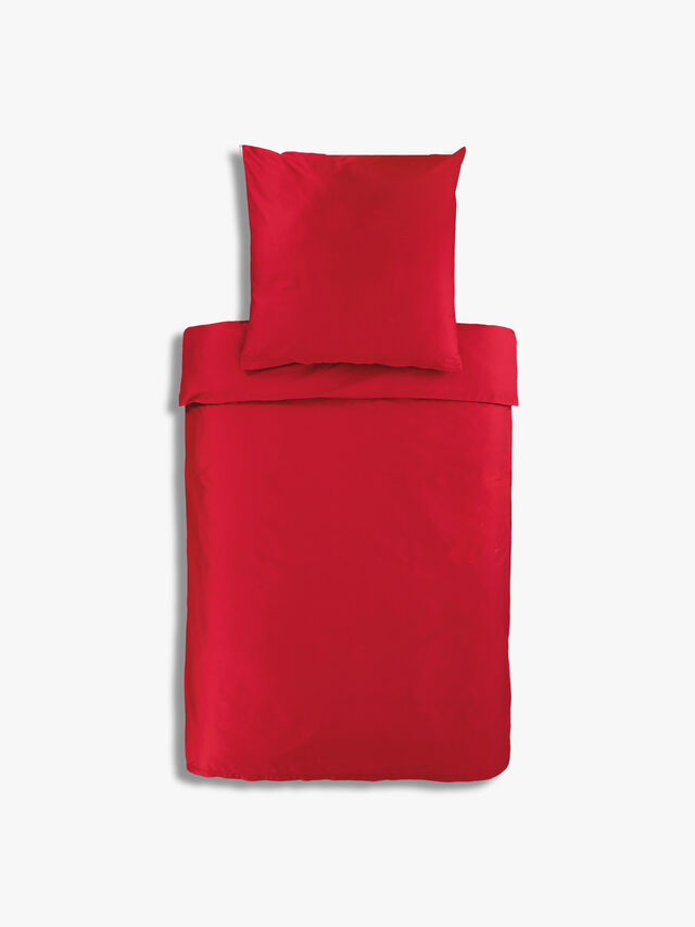 Recanati Rosso King Fitted Sheet