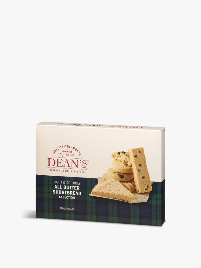 All Butter Shortbread Selection 480g