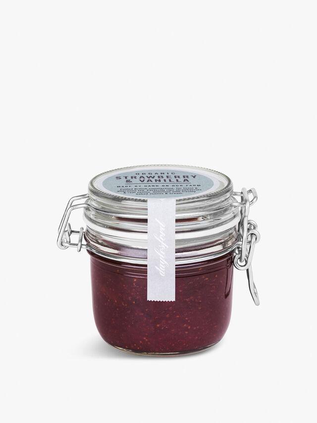 Organic Strawberry Vanilla Jam Kilner 227g