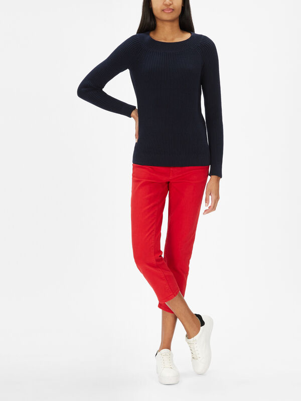 Elvin Boat Neck Jumper