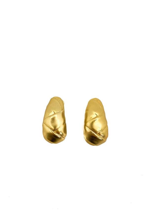 Vintage Golden Wrap Earrings
